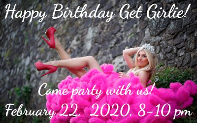 Get Girlie Party Tomorrow NIGHT!